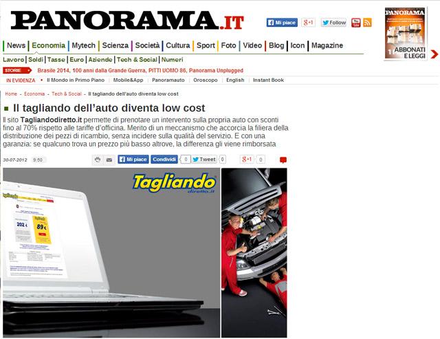 articolo su Panorama